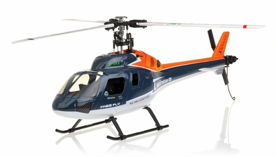 New RC Twinstar 3G 6-Channel Collective Pitch 3 Bladed Ready to Fly Helicopter