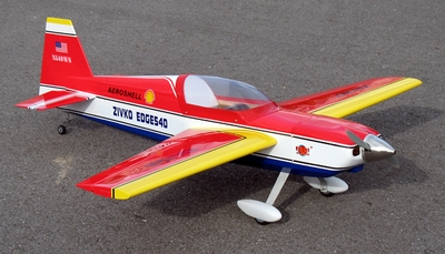 "New Red Edge 540 25 - 45""  Nitro Gas & Electric Powered Brushless   RC Plane Kit RC Remote Control Radio"