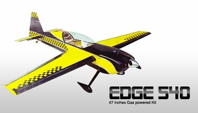 "New Red Edge 540 25 - 45"" Nitro Gas & Electric Powered Brushless Radio Remote Control RC Plane Kit RC Remote Control Radio"
