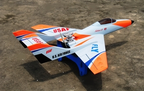 "New Super Falcon 120 - 63"" Nitro Gas Remote Controlled R/C Jet ARF"