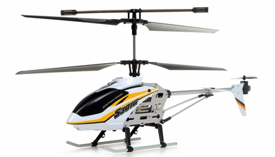 "New Syma S301G RC helicopter 18"" 3 Channel RTF + 27 mhz Transmitter with GYRO (Yellow) RC Remote Control Radio"