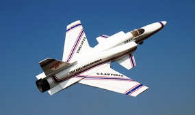 New U.S. Air Force NASA Darpa Grumman X-29A 4-inch Electric Ducted Fan Jet (Almost-Ready-to-Fly) RC Remote Control Radio