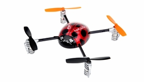 New Walkera QR Ladybird 2.4 ghz  4 Channel Quadcopter RTF w/ Devo 2402DTransmitter RC Remote Control Radio