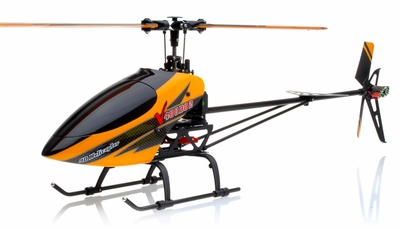 Walkera V400D02 FLYBARLESS Metal Edition Helicopter w/ 6CH 2.4Ghz DEVO-7 Transmitter RTF Combo