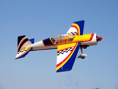 "New Yak 54 3D Fuel/Electric 25 - 45.5"" Radio Remote Controlled Acrobatic Kit RC Plane"