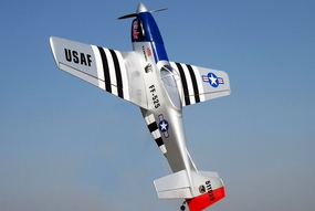 "Nitro Gas P-51 U.S. Air Force ""Stinky"" Mustang 46 - 57/5\Radio Remote Controlled Airplane Almost-Ready-to-Fly"