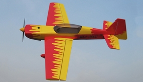 Nitro Model 4 Channel MX2 3D Aerobatic 30CC Gas Plane Kit 1860mm Wingspan (Red)