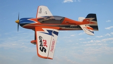 Nitro Model SBach 342 4 Channel Aerobatic 3D 30CC Gas Plane Kit 1860mm Wingspan (Orange)
