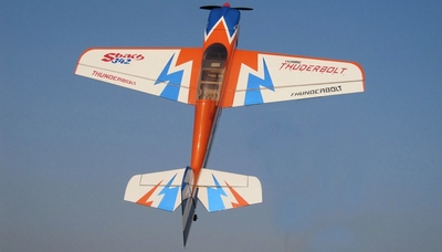 Nitro Model SBach 342 4 Channel Aerobatic 3D 70 size Nitro Plane Kit 1520mm(Orange) RC Remote Control Radio