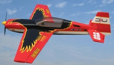 Nitro Model Thunderbird 4 Channel Aerobatic 3D 30CC Gas Plane Kit 1860mm Wingspan (Black)