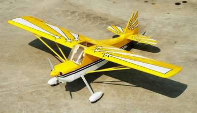 NitroModels Decathlon EP RC Plane