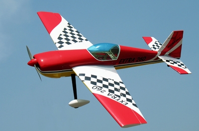 "NitroModels Extra 260 50 - 53.5"" 3D Aerobatic Radio Remote Control Nitro Gas RC Airplane ARF"