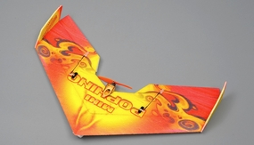 NitroPlane RC 4 Channel Mini Pop Wing  EPP ARF Version  Plane kit + T1306 motor + ESC + servo + propeller RC Remote Control Radio