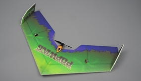 NitroPlane RC 4 Channel Pop Wing  EPP ARF Version  Plane kit + T2208 motor + ESC + servo + propeller