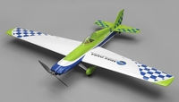 Nitroplanes Miss Dara 4 Channel RC Sport Racer 1280mm Wingspan