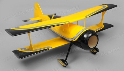 Nitroplanes Pitts Kit Nitro Power RC 5 Channel