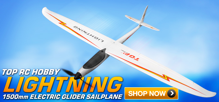 Nitroplanes Top RC Hobby Lightning