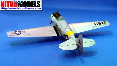 "North American AT-6F Texan 160 - 82"" Nitro Gas Radio Remote Controlled ARF RC WWII Warbird Airplane"