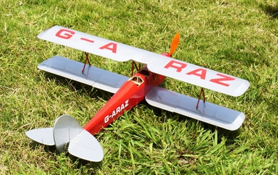 "On Sale! Tiger Moth 32"" BiPe Electric ARF Brushless Electric  led RC BiPlane RC Remote Control Radio"