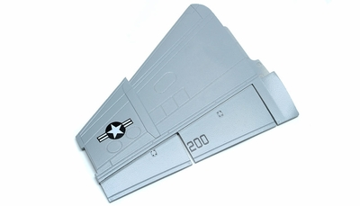 One Pc of  Left Main Wing-Grey