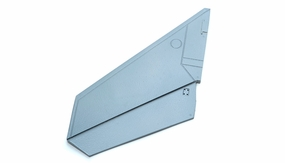 One Pc of Left Tail Wing-Grey
