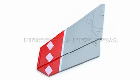 One Pc of Left Tail Wing-Red