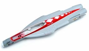 One Pc of  Painted Fuselage-Red