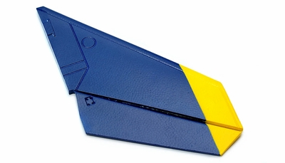 One Pc of Right Tail Wing-Blue 69A918-06-TailWingRight-Blue