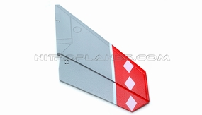 One Pc of Right Tail Wing-Red