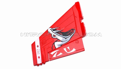 One Pc of  RightVertical Tail-Red