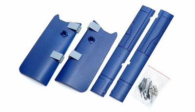 One Set Of LandingGearCover-Blue