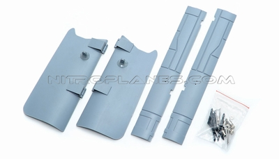 One Set Of LandingGearCover-Grey