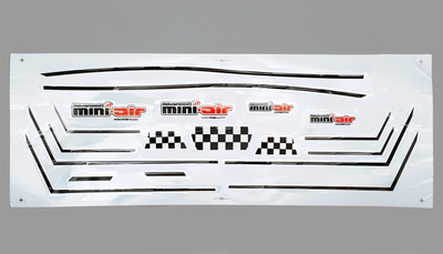 One set of Sticker 11A300-18-Sticker