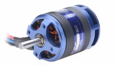 Optima 500 Brushless Motor 3025-1500KV 650W D:37,L:49,shaft:5