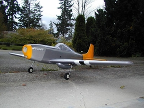 P-51 .60 ARF Just arrived..Pics