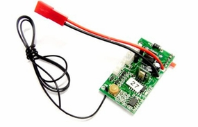PCB 49mhz    (Compatible with Toysrus Fast Lane 3.5CH RC Jaw Breaker Helicopter) 56P-s032-19-49mhz