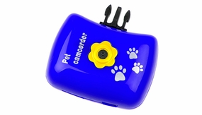 Pet Cam Pets View HD Camera (Blue)