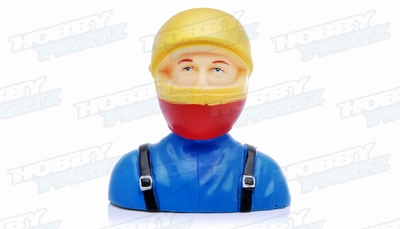 Pilot with Sport Helmet L66xW40xH69mm 1/6 25g