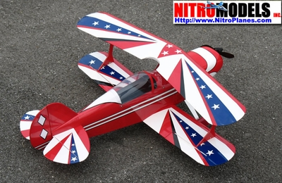 Pitts Special BiPlane ARF Electric  led Airplane RC Remote Control Radio