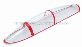 Plastic Parts - 1PCS Of Canopy-Red-F Twin Seat