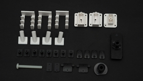 Plastic parts set