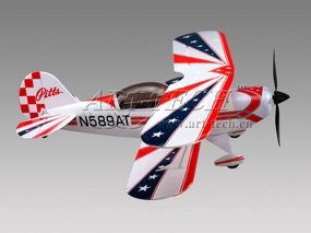 Professional Pitts 4-Channel Brushless BiPlane w/ Brushless Motor+ESC+LiPo Battery+Charger & USB Cable