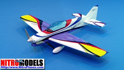 "Quest-50 - 54.6"" Nitro Gas ARF Radio Controlled Aerobatic R/C Aircraft"