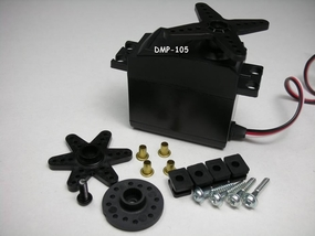 Raiden DMP-105 49G Digital Servo w/Metal Gear for High-Torque performance