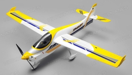 RC Dynam Smart Trainer Plane w/ 2.4ghz 4 Channel Ready to Fly 1500mm Wingspan (RTF)