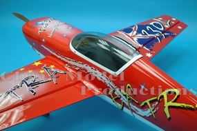 "Red CMP Extra 330L 50 - 56"" Nitro Gas Engine Powered Radio Remote Controlled Aerobatic RC Airplane ARF"