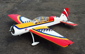 "Red Yak 52 3D 50 - 56"" Version 2 Nitro Gas Radio Remote Controlled Aircraft Almost-Ready-to-Fly ARF"