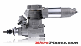S91A ASP 2-stroke Engine for Nitro RC Planes