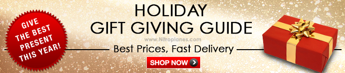 Give the Best R/C Gift This Holiday Season! Select From Over 100 Top R/C Planes Site-Wide.