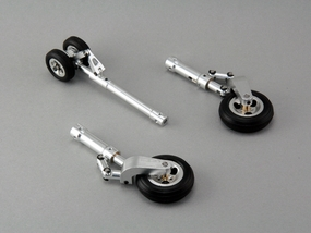 Scale Landing Gear for CMP EDF T-45 w/ Metal Wheels